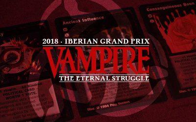 Presentación del Encuentro Nacional y del Iberian GP 2018 de VTES